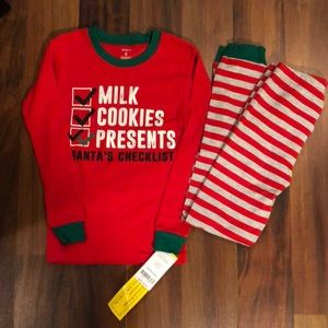 NWT Youth Christmas Pajamas